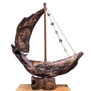 barca lemn