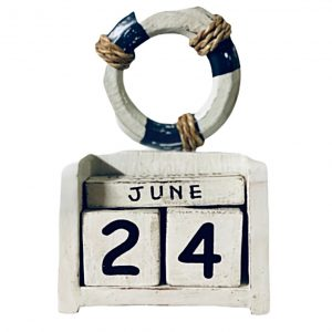 calendar lemn